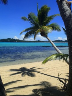 relaxing beach walks at coconut beach resort fiji
